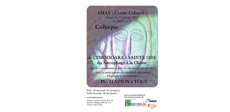 Colloque De Chrodoara à Sainte Ode