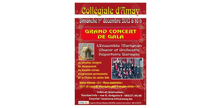 Concert de Gala avec l'Ensemble Marignan