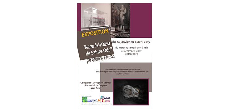 Exposition Autour de la Châsse de Sainte Ode