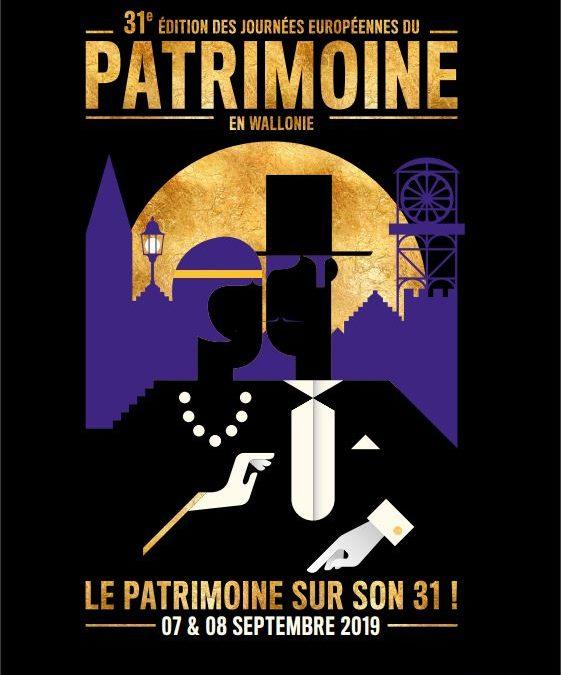 Journées du Patrimoine 31e édition les 7 et 8 septembre 2019