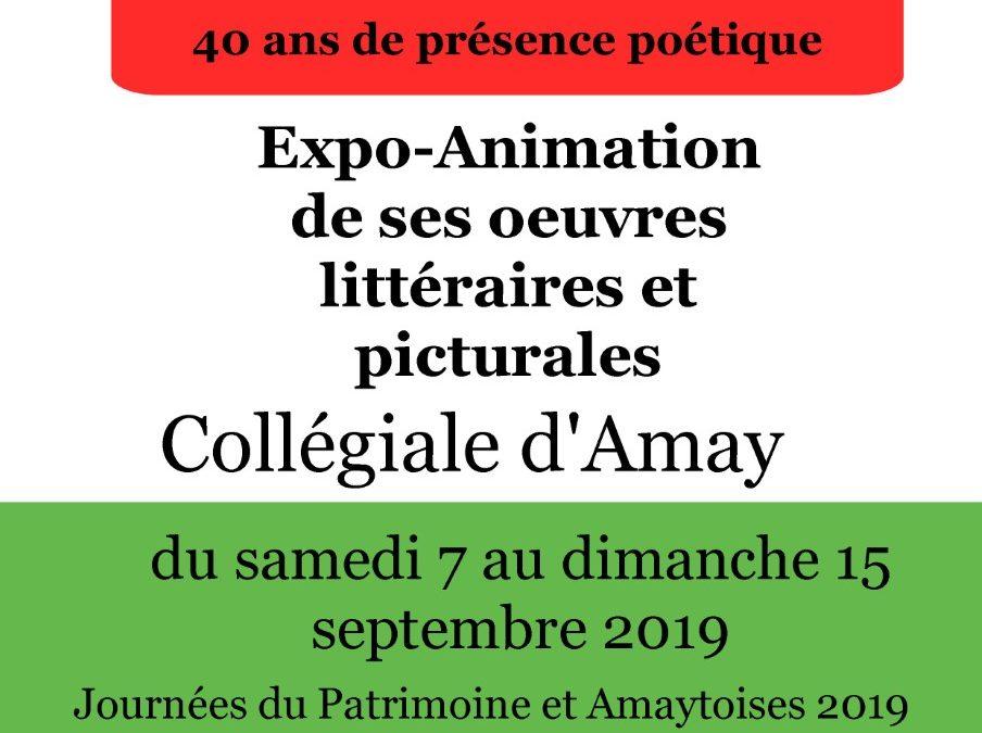 Expo-Animation des oeuvres de Béatrice Libert
